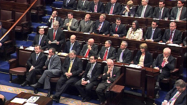 Front Bench - Named this afternoon in the Dáil
