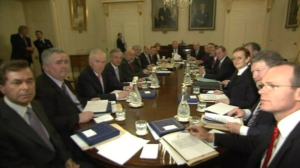 The Cabinet will then discuss the Constitutional convention's finding
