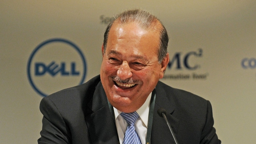 Mexican tycoon remains world's richest person