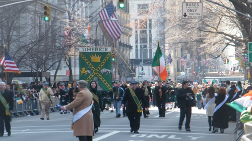 New York St. Patrick's Day Parade, 5th Avenue