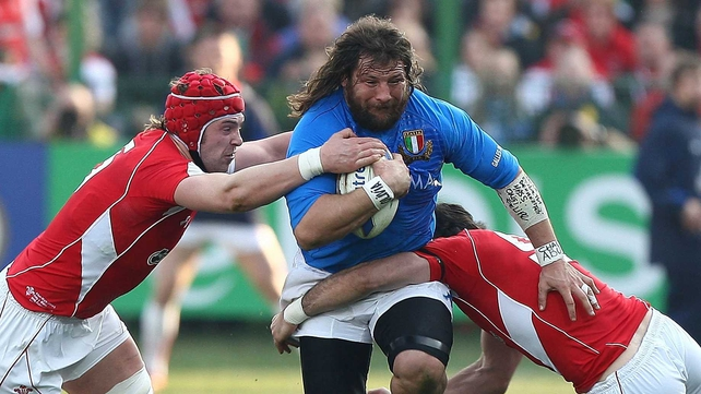 Martin Castrogiovanni is back for Italy