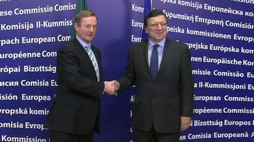 Enda & Barroso - Hour long meeting in Brussels