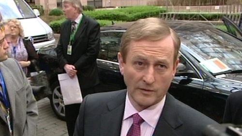 Enda Kenny - Refused a 1% cut in Ireland's EU/IMF bailout rate
