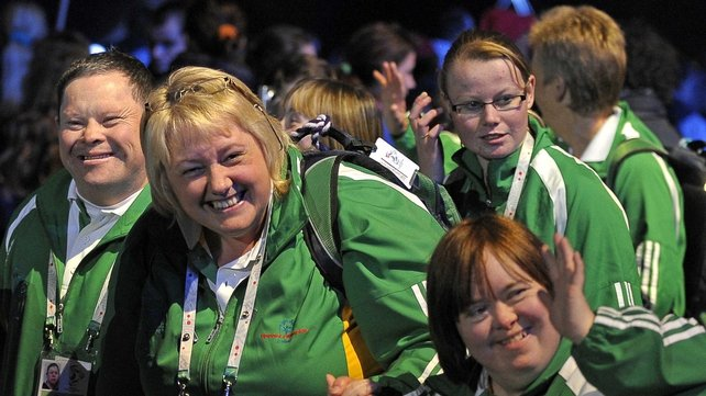 Special Olympics 2011 - Ireland is sending 126 athletes to Athens