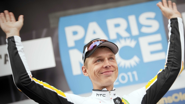 Tony Martin: won 27km time trial