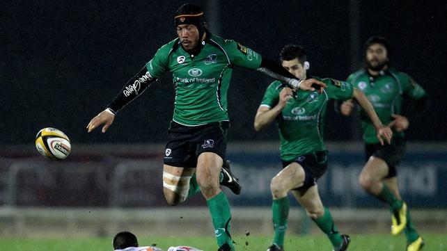 Connacht forward Ray Ofisa