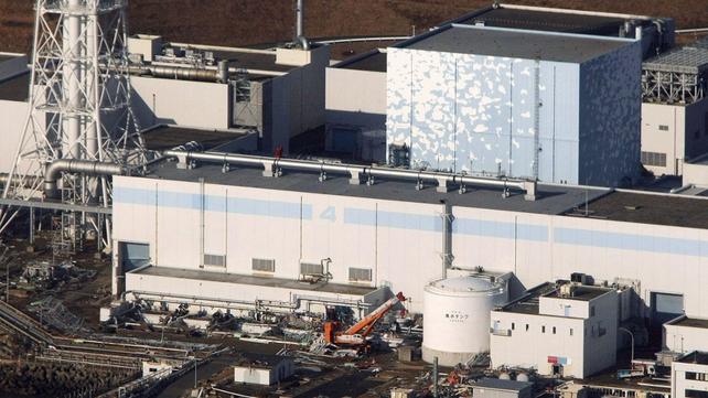 Fukushima - Earthquake-damaged nuclear power plant