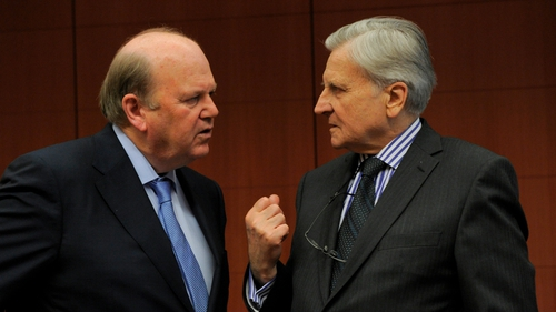 Noonan & Trichet - Potential shortfall in both the liquidity and capital situations in the banking sector