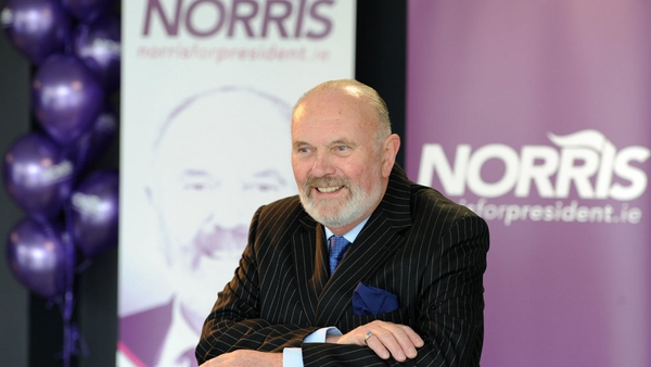 David Norris - Getting nominated is 'an arduous task' (Picture: Paul Sharp)