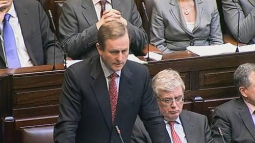 Enda Kenny - Elected as Taoiseach last Wednesday