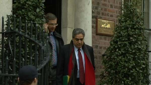 Ajay Chopra - Back in Dublin to meet new Government