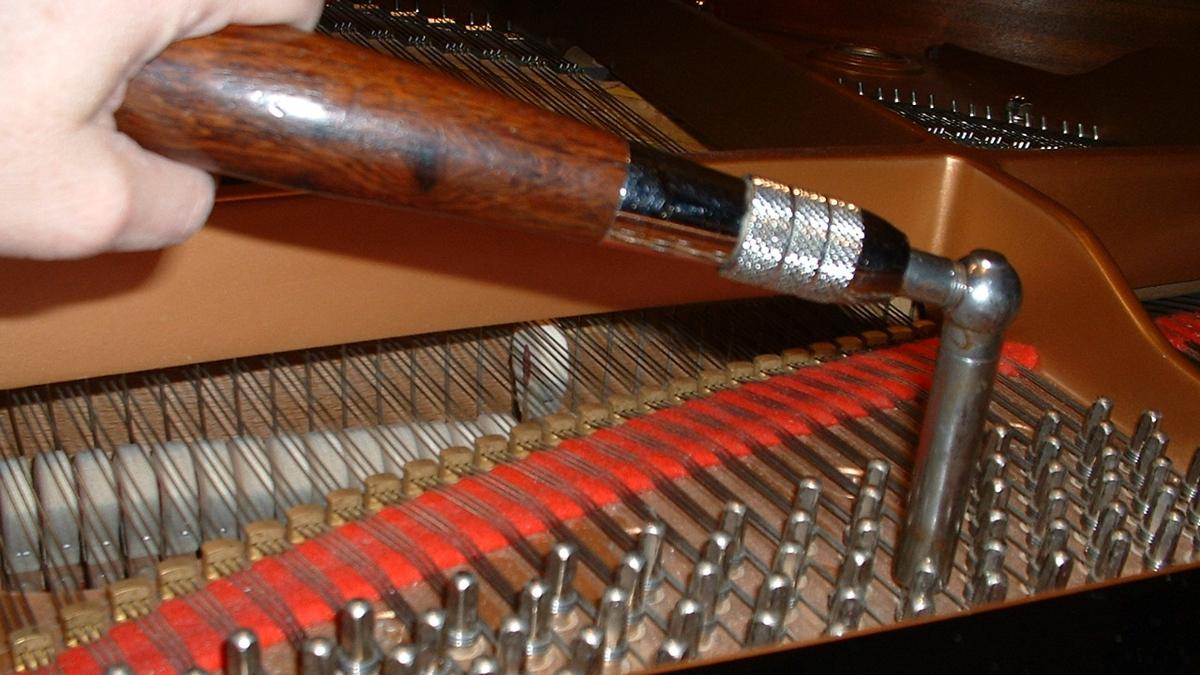 George Redmond Gentleman Piano Tuner