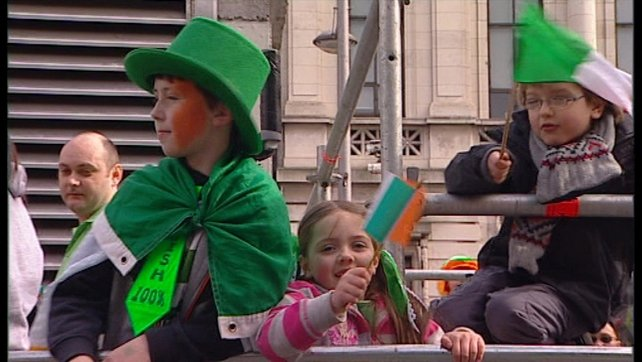 St Patrick's Day Celebrations - 550,000 attended parade in Dublin