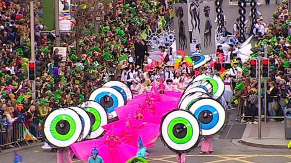 Dublin - Roddy Doyle's 'Brilliant' was theme of parade
