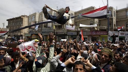 Yemen - Protestors want President Ali Abdullah Saleh to step down