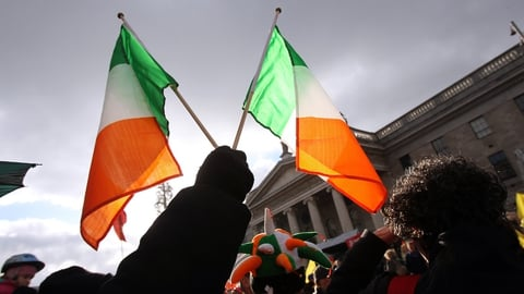 Nationwide: History of the Irish Flag