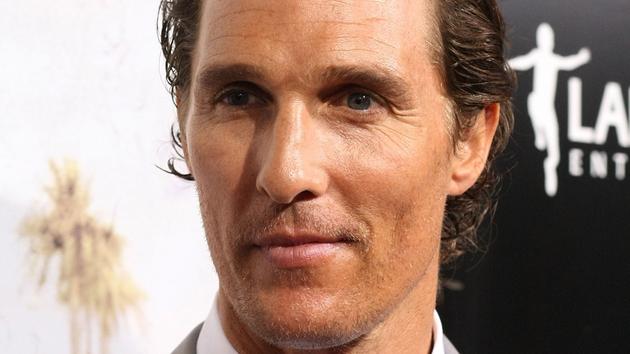 Matthew McConaughey - taking it to the small screen