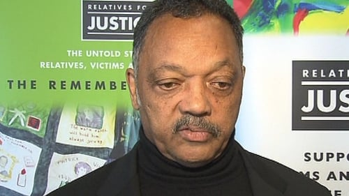 Rev Jesse Jackson - Met with relatives of victims of the Troubles