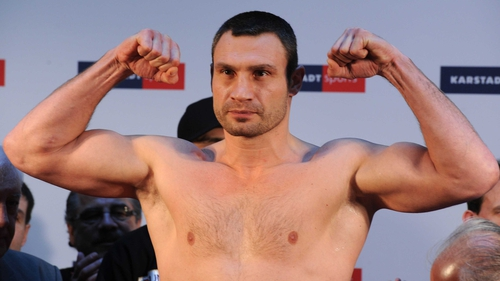 Vitali Klitschko - Has made the offer of a fight to David Haye's camp