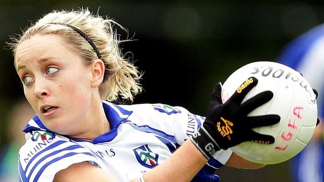 Ciara McAnespie finished with a personal haul of 2-02 in Monaghan's drubbing of Donegal in Convey
