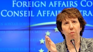 Catherine Ashton said it is 'clear that the Syrian government is not fulfilling its obligations'