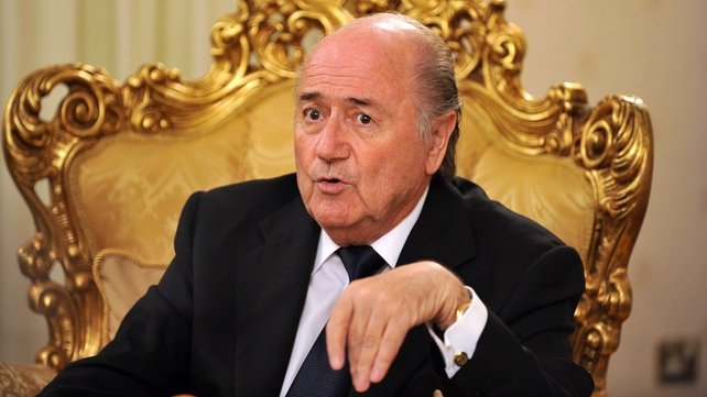 Sepp Blatter is playing down any prospect of re-staging the  2022 World Cup vote