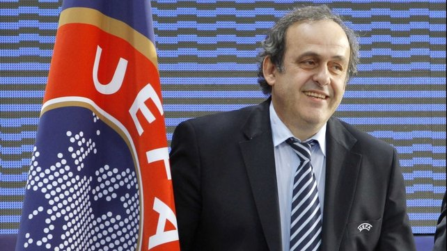 Michel Platini: 'It is a great debate. It would be four games per venue and everyone has the possibility to host it.'