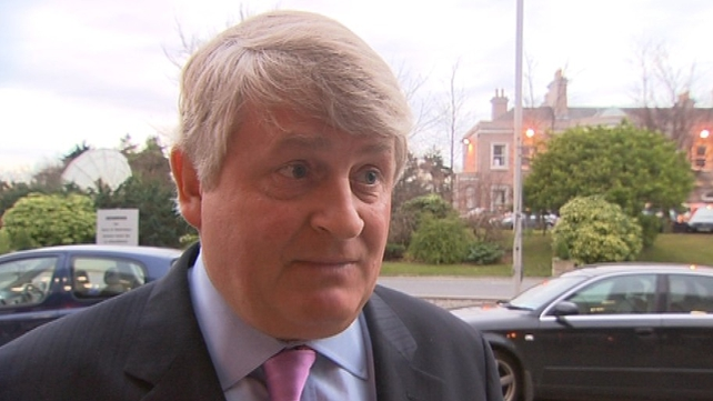 Denis O'Brien - Made series of challenges to the Moriarty Tribunal