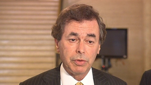 Alan Shatter - Minister has sought to defend the judiciary