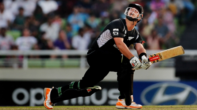 Jesse Ryder in action for the Black Caps