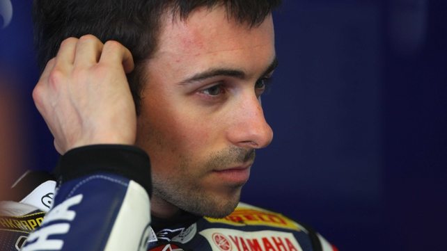 Eugene Laverty finished fourth in his debut World Superbike Championship season