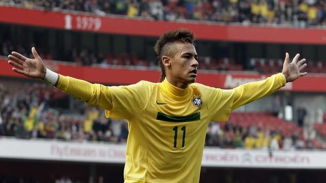 Neymar will spearhead Brazil's challenge