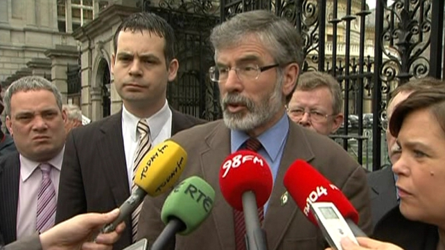 Support for Sinn Féin currently stands at 18%