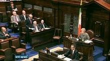 Nine News: Lowry makes defiant address to Dál