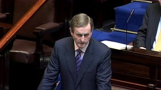 Enda Kenny - Jobs initiative to be announced next month