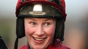 Nina Carberry enjoyed success when teaming up with trainer Mick Channon at Cheltenham