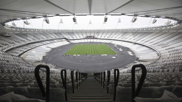 A view of the 2012 Olympic Stadium