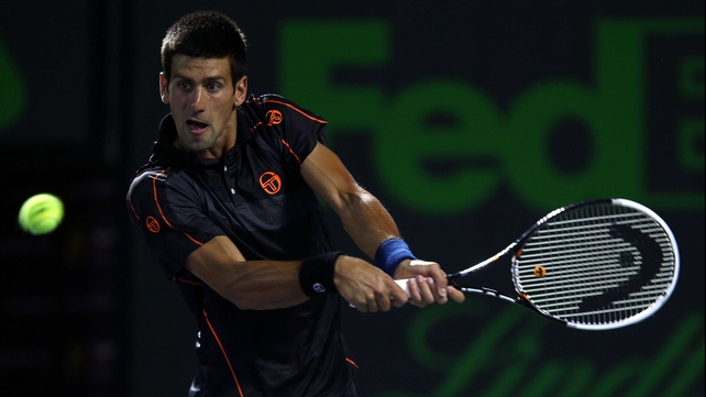 Novak Djokovic - the Australian Open champion extended his unbeaten start to 2011.