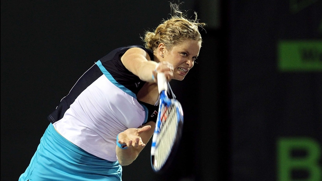 Kim Clijsters - the Belgian Tennis ace admitted she ran out of 'fighting spirit' in Miami.