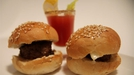 Mini Bloody Mary Burgers - An interesting start from The Restaurant's Ian Dempsey!