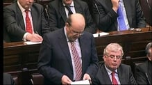RTÉ.ie Extra Video: Michael Noonan - Restructuring of financial institutions