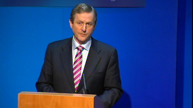 Enda Kenny - Spoke about 'clarity and purpose'