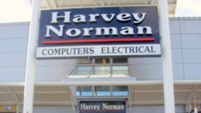 It is the second raid on a Harvey Norman store in Cork city in the past six months
