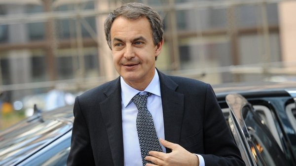 Jose Luis Rodriguez Zapatero - Elected as Spanish Prime Minister in 2004