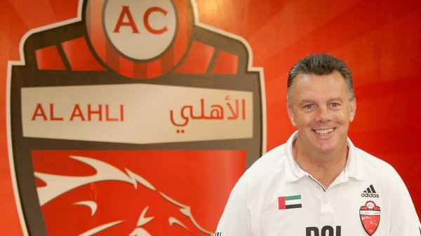 David O'Leary - has guided Al-Ahli to fifth in the UAE Pro-League; his side are 17 points behind leaders Al-Jazira