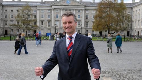 Patrick Prendergast - Takes over from Dr John Hegarty on 1 August
