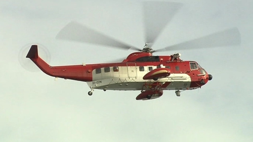A search involving the Wexford lifeboat, local coastguard units and a coastguard helicopter was carried out