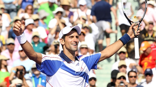 Djokovic - Inflicted the first clay-court defeat on Rafael Nadal in nearly two years with victory in Madrid