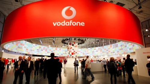 Vodafone's organic service revenue was down 4.8% in the three months to December