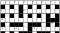 Cryptic Crosswords
